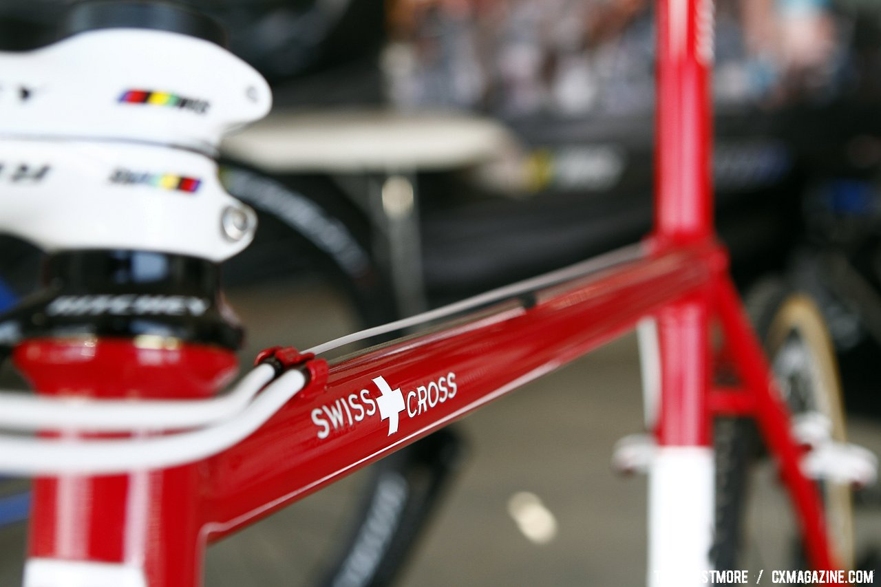 The steel Ritchey Swiss Cross is back for 2012. © Tim Westmore / Cyclocross Magazine