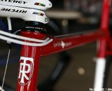 Tom Ritchey flared his head tube to accommodate the 1-1/8