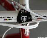 Red and white - just like the old Swiss Cross as ridden by Frischknecht. © Tim Westmore / Cyclocross Magazine