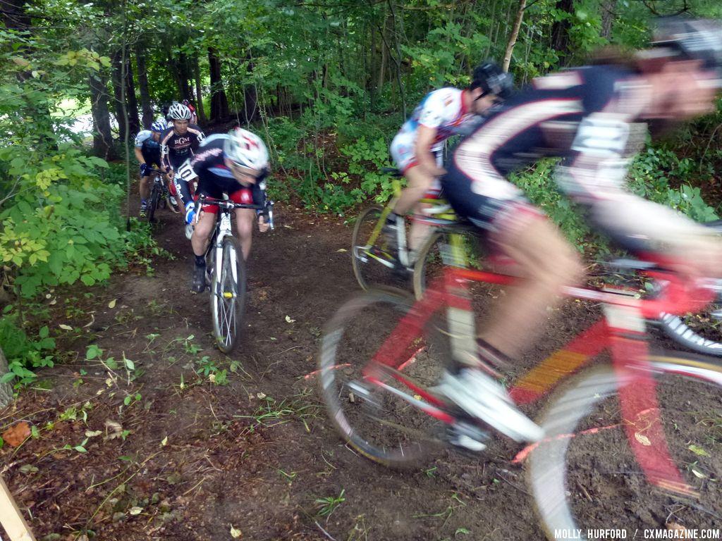 Rochester Elite Men Day 1. © Cyclocross Magazine