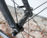 The Rolf SSCX cyclocross wheelset shares the same front 200 gram hub as the VCX wheelset. © Cyclocross Magazine