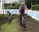 The muddy conditions asked a lot of the riders. ? Bart Hazen