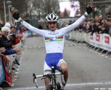 Marianne Vos wins the first international cyclo cross in Rucphen © Bart Hazen