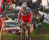 Kevin Pauwels suffers late in the race © Dan Seaton