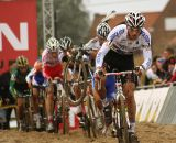 Zdenek Stybar regained the lead in the second lap, but couldn't hold it © Dan Seaton