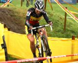 Sanne Cant had an off day in Ruddervoorde © Dan Seaton