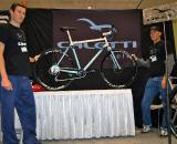 John Caletti of Santa Cruz based Caletti Cycles showed off this monster cross design ? Dave Lawson