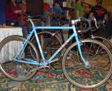 Moth Attack?s Megan Dean displayed this slick looking internally geared commuter bike. Dean is known in SoCal cyclocross circles for stoking on the region?s only cyclocross tandem. She?s currently building her first cyclocross bike that will be her personal ride for next season. ? Dave Lawson