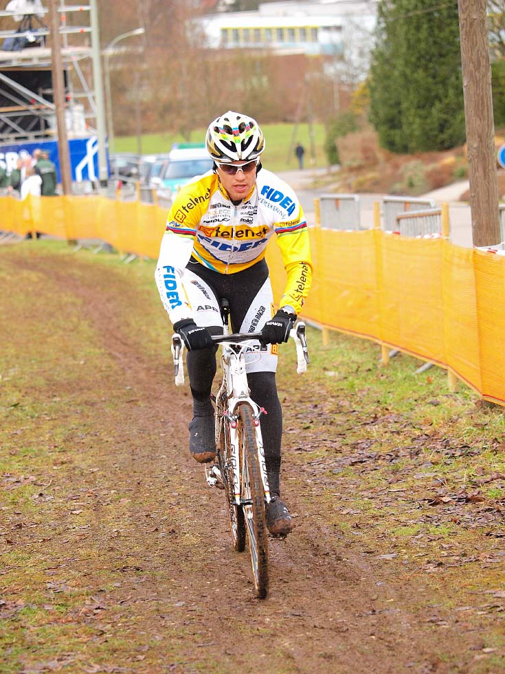 This will be one of the World Champion\'s last races for Telenet-Fidea. © Jonas Bruffaerts