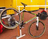 The Cyclocrossworld Team aren't the only ones preparing Cannondales for the races.  © Jonas Bruffaerts