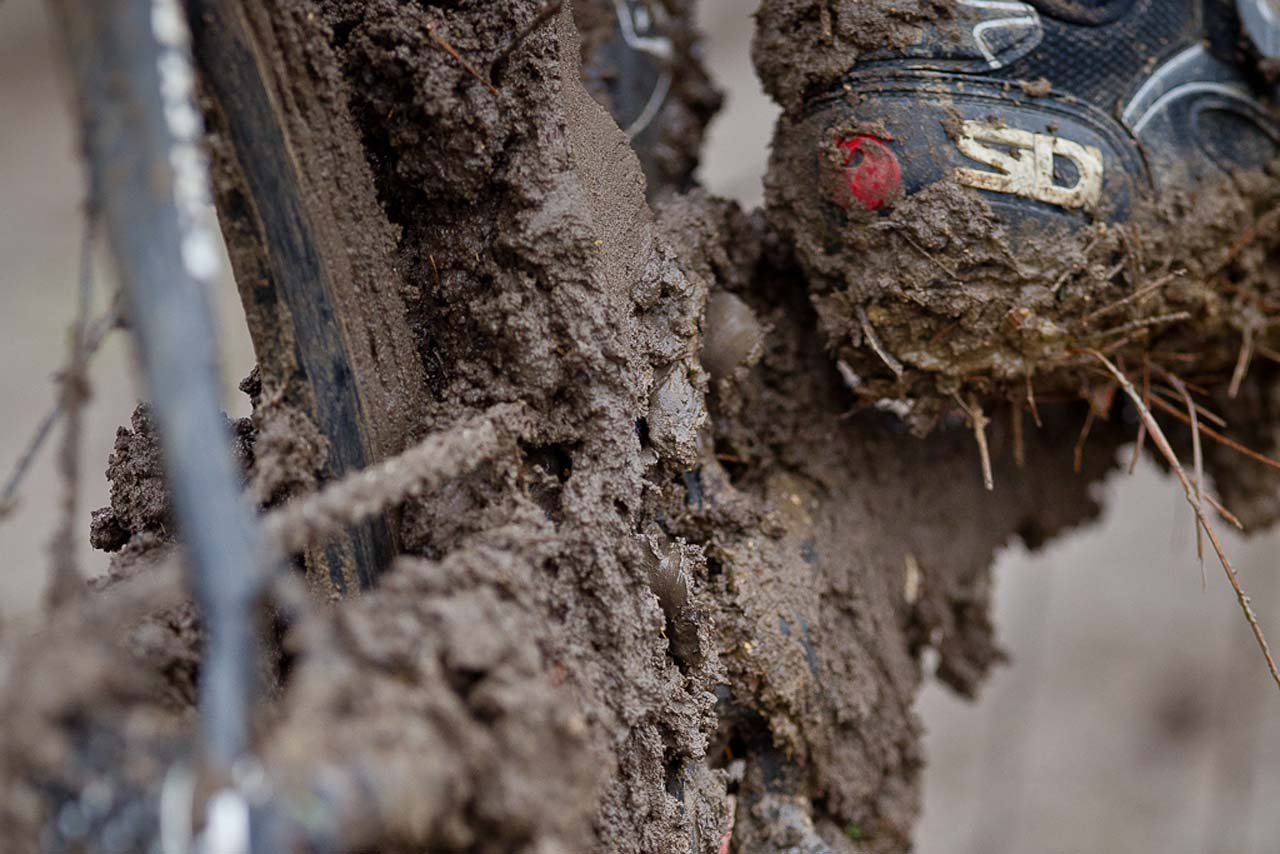 The early racers had some sticky mud to deal with ©Danny Munson