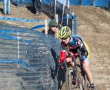 Santos and Arensman Snag Junior Santos in the Women 17-18 and 15-16 Titles at the 2014 National Cyclocross Championships. © Mike Albright