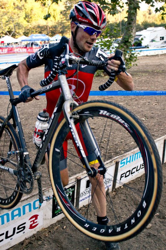 Roadie Chris Horner came back from an early crash to finish ninth. © M. Rock