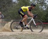 Rainnier Schaefer (MASH SF) powers through the sand pit. ©Tim Westmore
