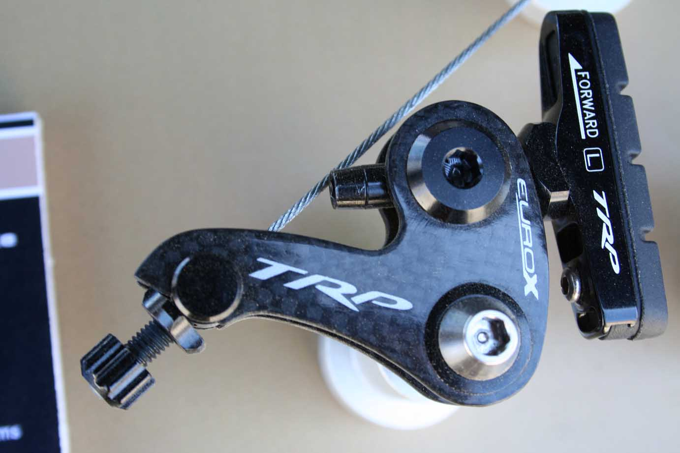 TRP\'s Carbon EuroX Adjust Cyclocross Cantilever Brake