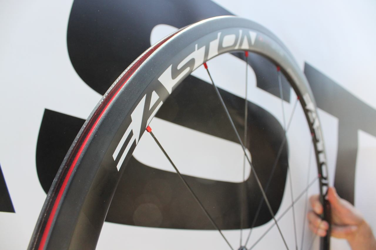 The $1799 wheelset features a carbon rim that is 20.5mm wide and 38mm deep. ? Cyclocross Magazine