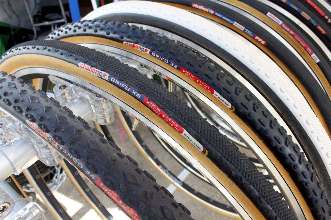 Choose your tread, and your color - Challenge has options. ? Cyclocross Magazine
