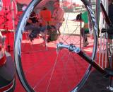 Zipp displayed their new 101, aluminum rimmed clincher wheelset that weighs 1520g and retails for $1300. ? Cyclocross Magazine