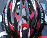 Giro unveiled its Aeon helmet, its second lightest and worn by just a few European pros. Sea Otter Classic Expo 2011. © Cyclocross Magazine