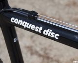 Redline's Conquest Disc is back for 2013. Sea Otter 2012. ©Cyclocross Magazine