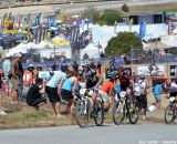 The paved hill was hard for all of the racers at the Sea Otter short track race 2013. © Cyclocross Magazine