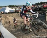 Justin Lindine during cyclocross at Sea Otter. © Mike Albright