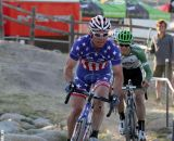 An early crash took Page out of the lead group at the Raleigh cyclocross race at Sea Otter. © Cyclocross Magazine