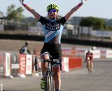 Mani takes the Elite women's win at the Raleigh cyclocross race at Sea Otter. © Cyclocross Magazine