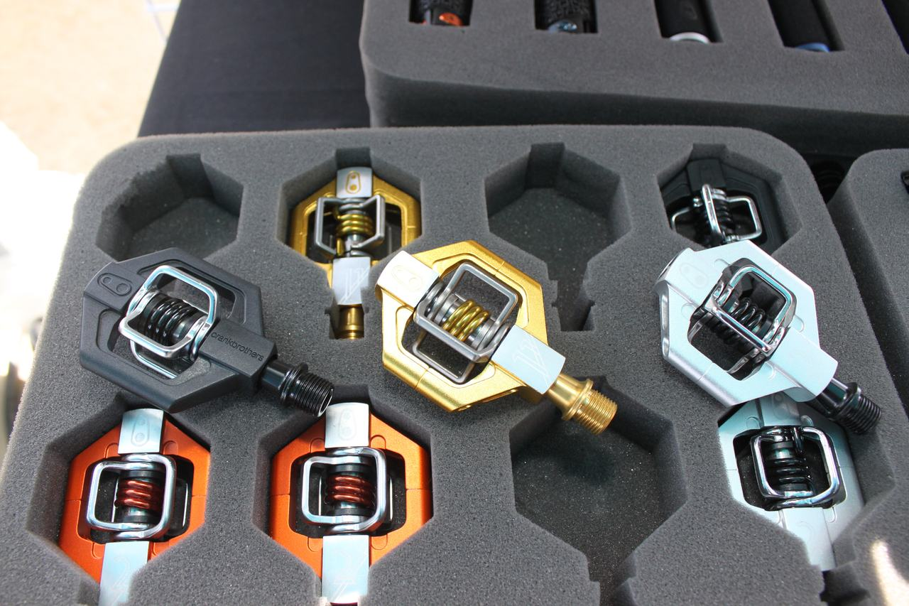 Crank Brothers' just-released new lineup of Eggbeater and Candy pedals? Andrew Yee