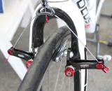 Here are the Avid Shorty Ultimates in wide configuration, on a Focus Milram bike © Andrew Yee