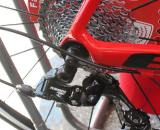 The Apex rear derailleur has a longer cage and can accommodate a wide range cassette ? Andrew Yee