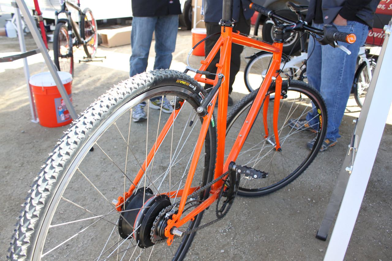 Nuvinci's new N360 hub on a flat bar 'cross bike ? Cyclocross Magazine
