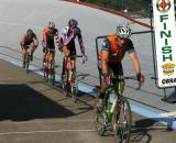 Babcock leads the Kona-FSA trio of Trebon, Wicks, Tonkin © David Roth