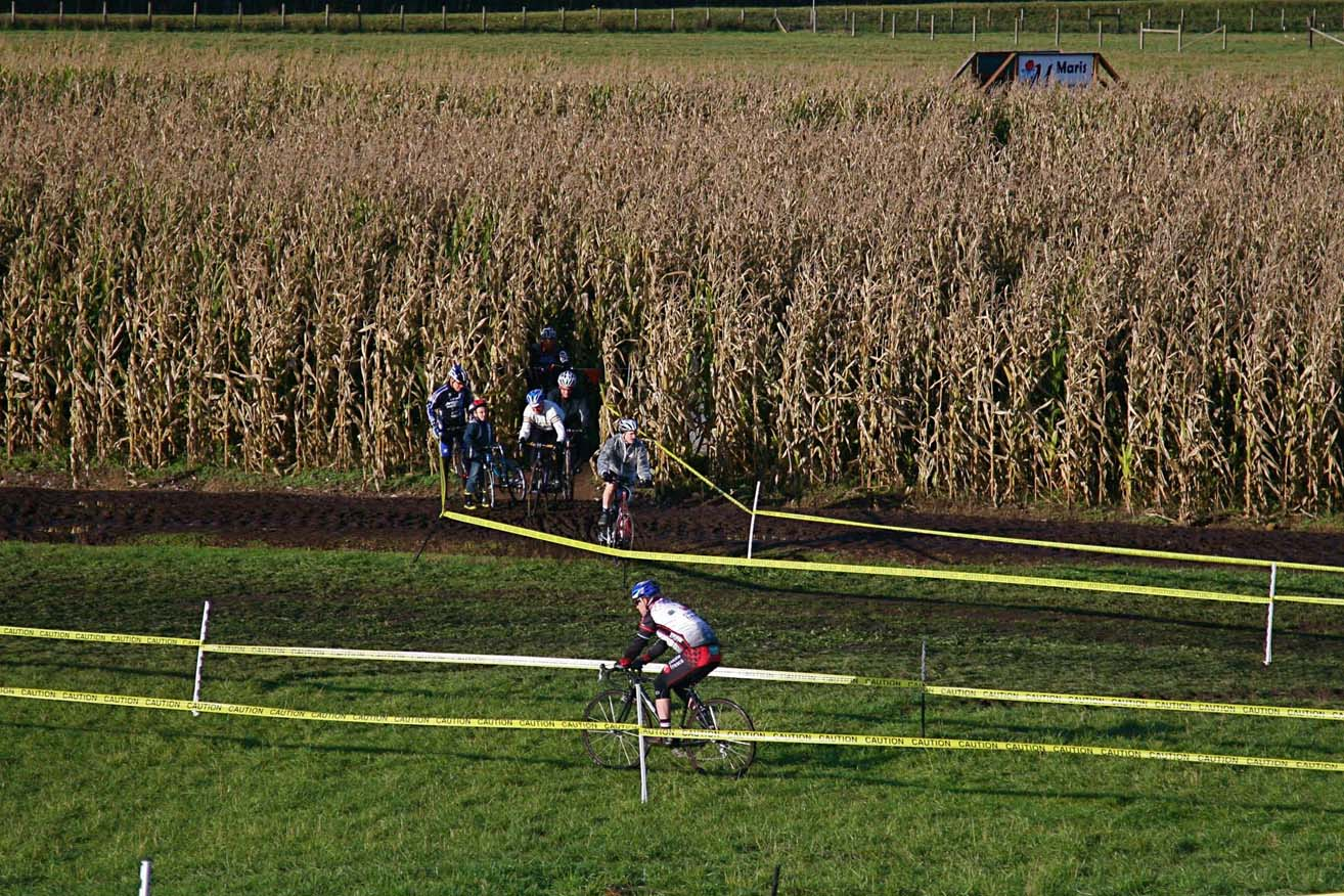 Seattle Cyclocross #5, Maris Farm, November 1, 2009. ? Janet Hill