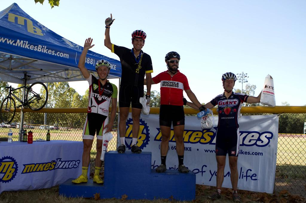 The men\'s podium.© Tim Westmore