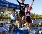 Women's Category A Podium - Sacramento Cyclocross SeriesEllen Sherrill (first), Emily Thurston (second), Jen Jordan (third)