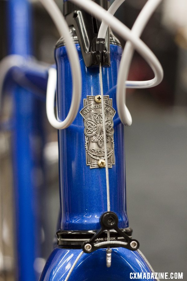 Shamrock Cycles are handmade with steel in Indianapolis, Indiana by Tim O\'Donnell. ©Cyclocross Magazine