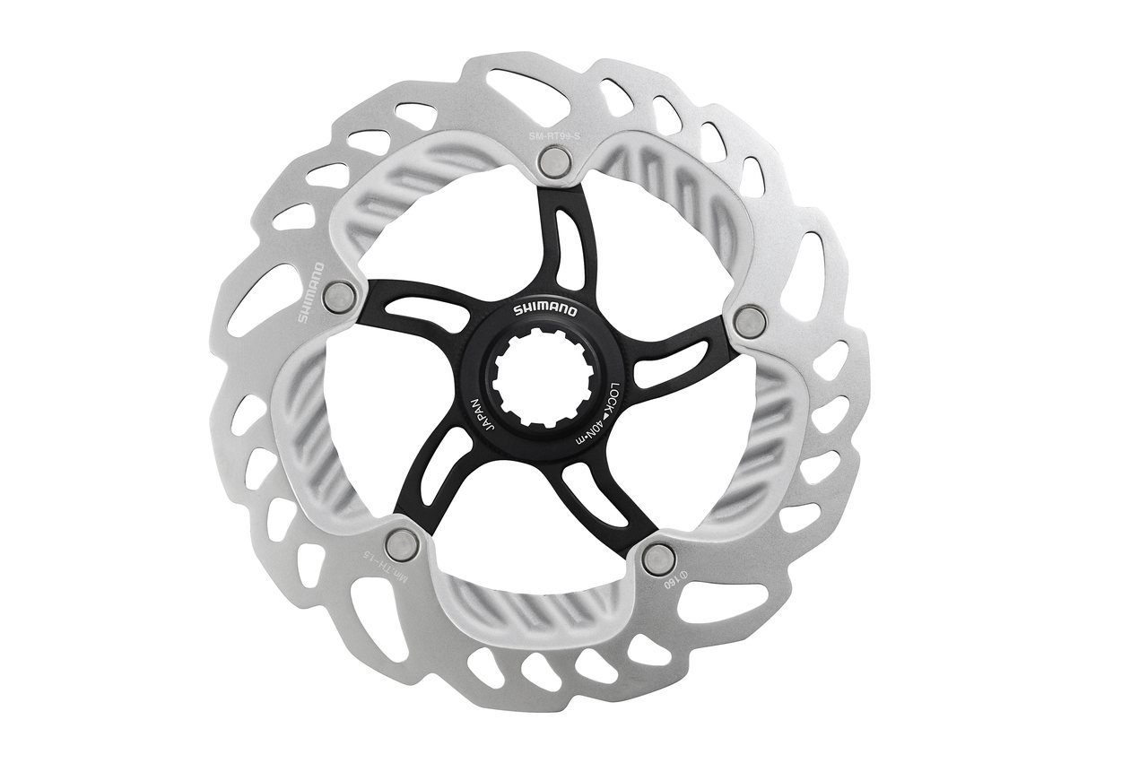 Ultegra RT99 Ice Tech rotors will be Shimano\'s first 140mm Ice Tech option. © Shimano