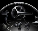 Ultegra 6870 Di2 11-speed components. © Shimano