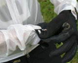 Seal down the Velcro cuffs to keep weather at bay © Robbie Carver