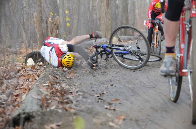 At least this dirt tastes better than last week. ? Natalia McKittrick, Pedal Power Photography