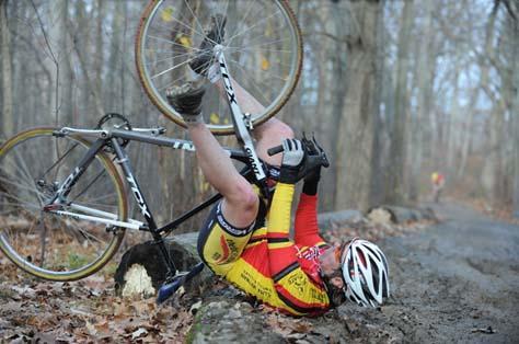 At least the bike looks OK. ? Natalia McKittrick, Pedal Power Photography