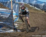 Ellen Noble finished fifth for the day after a dropped chain. © Steve Anderson