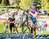 The eventual top two in Men's Elite: Siegle leads Gritters. © Philip Beckman