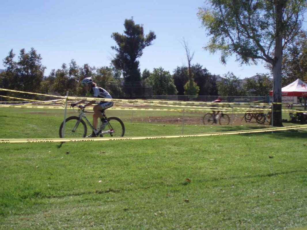 It Was a Beautiful Day in Southern California, but Recent Rains Made the Grass Slow © Tim Van Gilder