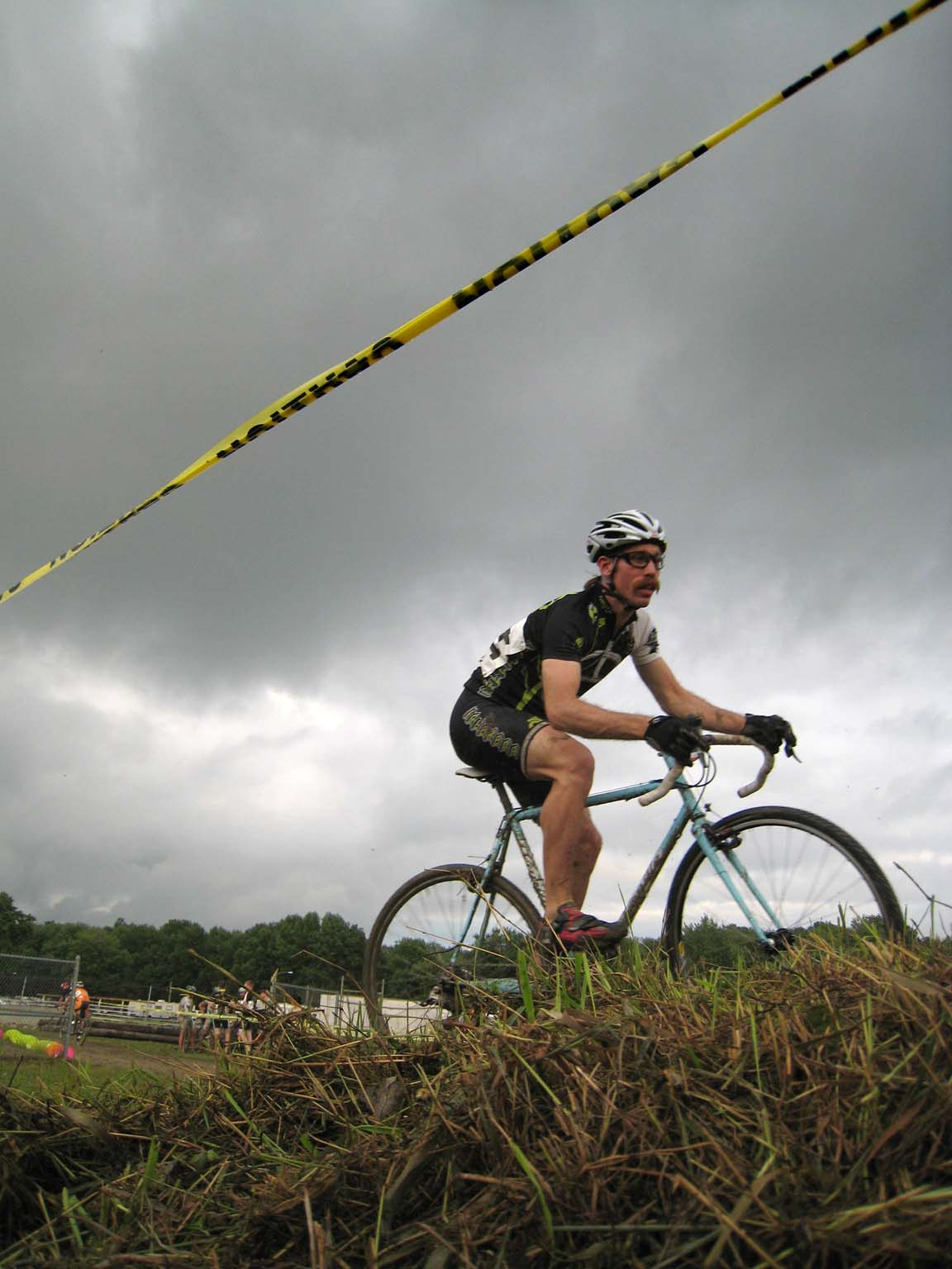 Ominous skies provided true 'cross conditions