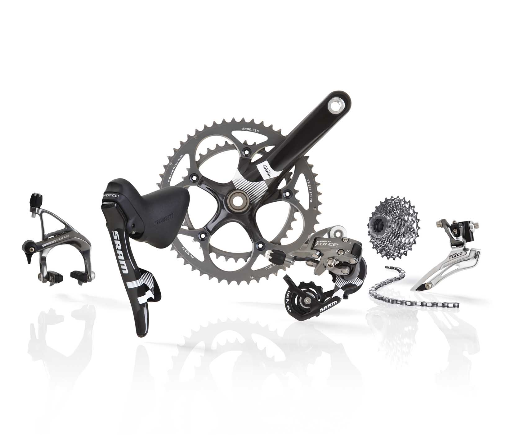 New SRAM Force 2010 Groupset