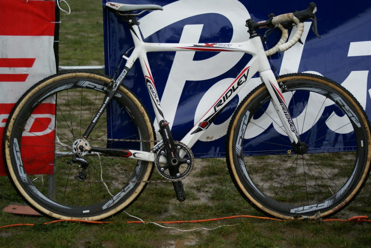 Wendy's SSCXWC winning Ridley XNight ©Kenton Berg