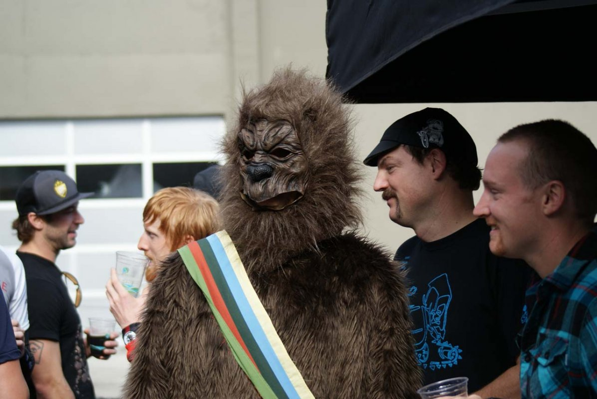 Sasquatch was looking for a unicorn to eat © Kenton Berg