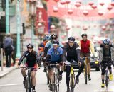 The heats toured Chinatown and North Beach. SSCXWC 2011 Day 1 Qualifiers. © Kevin White